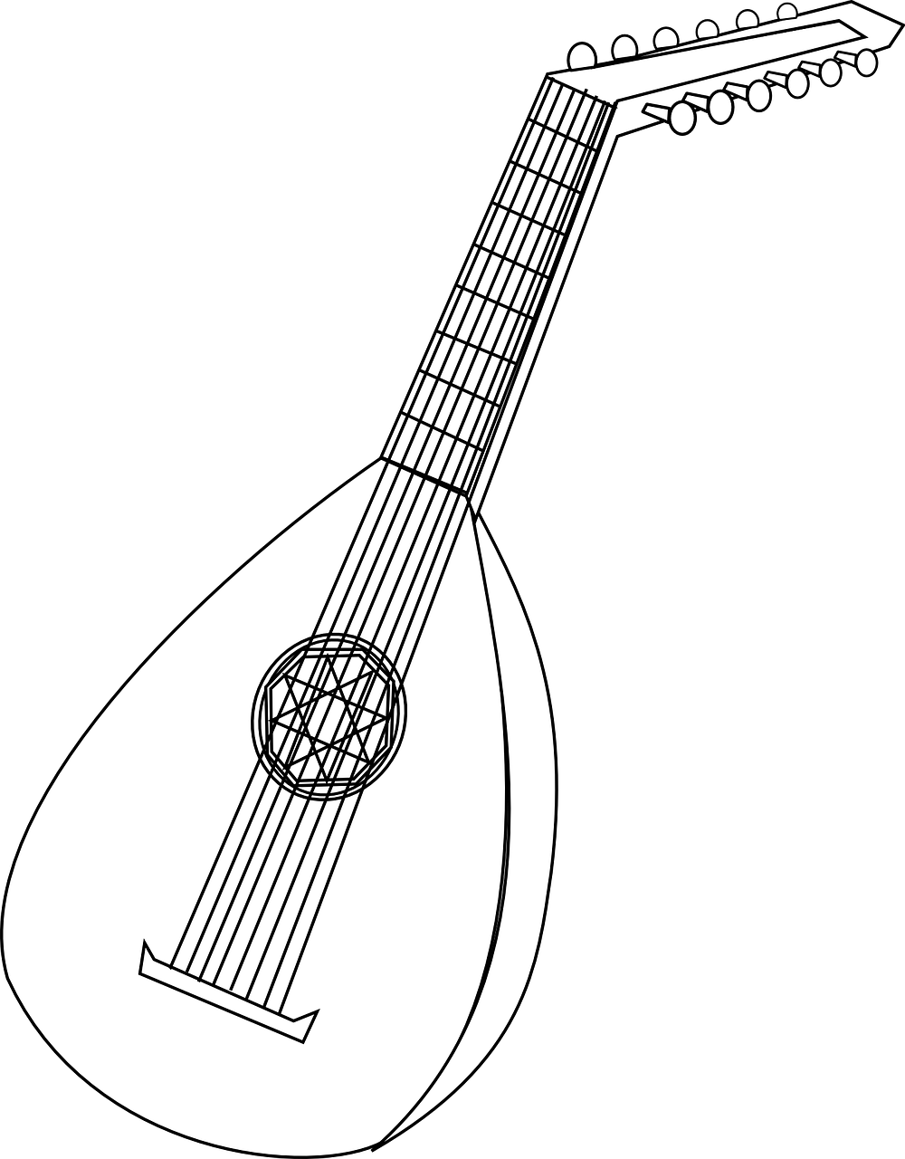 Lute graphic