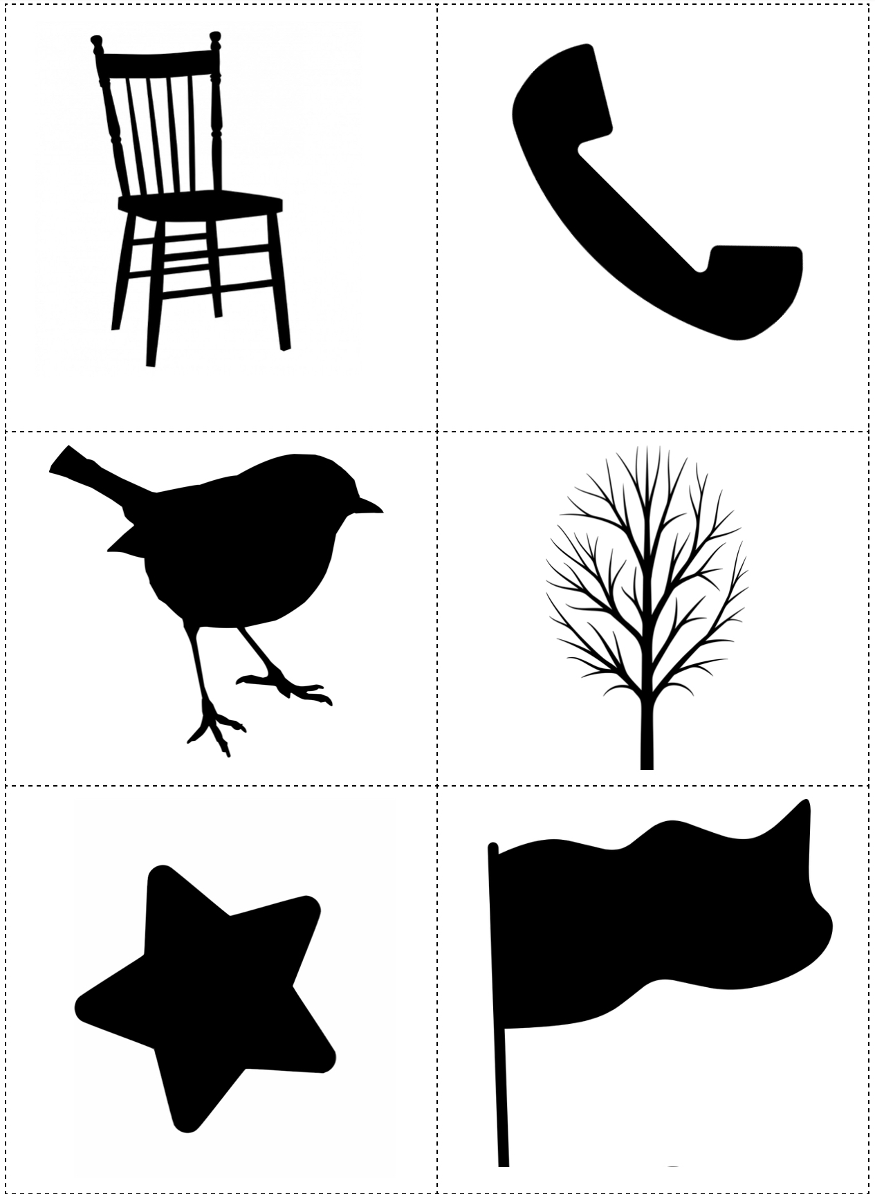 Shadows of objects that don't begin with sh